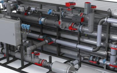 Reverse Osmosis System MaxModule© – 24 x 12 Array w/(3) Aqualine Filters