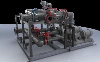 Backwash Pump Skid – (3) 20HP Pumps